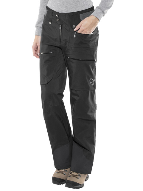 Norrøna Lofoten Gore-Tex Pro Light Pants Women Caviar